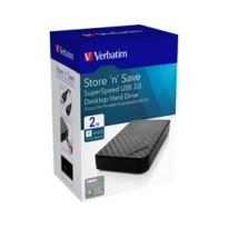 Verbatim HDD esterno 3.5 2TB USB 3.0 47683