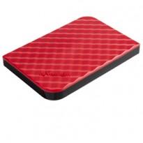UBS PORTATILE STORE  GO 1TB USB 3.0 RED (9.5MM DRIVE) 53203