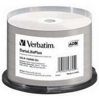 SCATOLA 50 CD-R BULK DATALIFEPLUS SPIND. 1X-52X 700MB STAMP.WIDE INKJET PHOTO 43745