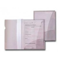 5 CARTELLINE C/TASCHE CAPRI 69/2 21X29,7 PVC CRISTALLO 26069202