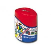 Temperamatite 2 fori per matite colorate c/contenitore Noris Club STAEDTLER 512002