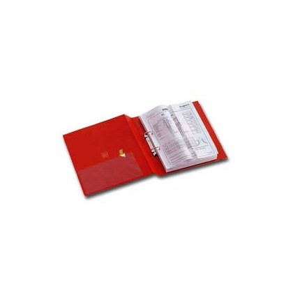 Raccoglitore STELVIO 50 A4 2D rosso 22x30cm SEI ROTA 35504212