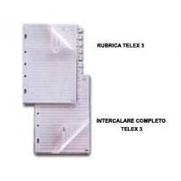 RUBRICA A-Z PER TELEX 3 e COMBI 2000 15X21CM (A5) 533000