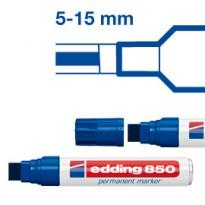 MARCATORE EDDING 850 ROSSO PS 5-16MM PERMANENTE E-850 002