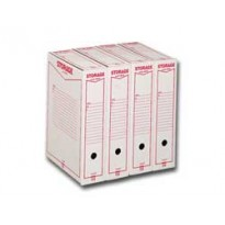 Scatola archivio STORAGE LEGALE (1602) 90x370x260mm REXEL 00160200 - Conf da 32 pz.