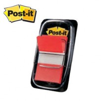 SEGNAPAGINA Post-it 680-1 ROSSO 25.4X43.6MM 50FG INDEX 7370