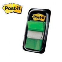 SEGNAPAGINA Post-it 680-3 VERDE 25.4X43.6MM 50FG INDEX 4649