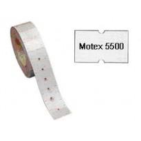 Rotolo 1000 etichette 21x12mm bianche rimovibili x TOWA GS-GM-MOTEX 5500 350GSRIM - Conf da 20 pz.