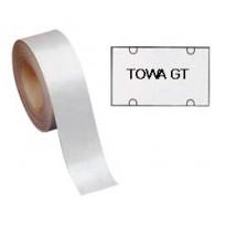 Rotolo 700 etichette 30x18 bianche rettangolari permanenti x TOWA GT 350GTPER - Conf da 14 pz.