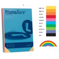 Carta RISMALUCE 140gr A4 200fg mix 5 colori FAVINI A65X214