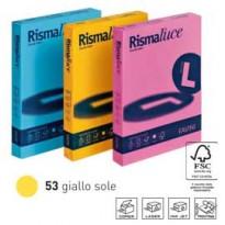 Carta RISMALUCE 140gr A4 200fg giallo sole 53 FAVINI A65B204