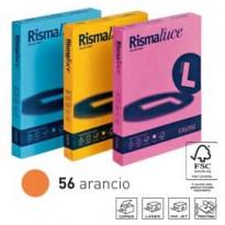 Carta RISMALUCE 200gr A4 125fg arancio 56 FAVINI A67E104