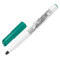 Pennarello VELLEDA 1741 punta tonda whiteboard verde BIC 1199174102 - Conf da 12 pz.