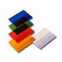 Coprimaxi satinato PVC goffrato blu c/alette 21x30cm RiPlast 31715003 - Conf da 25 pz.