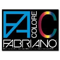 BLOCCO FACOLORE (24X33CM) 25FG 220GR 5 COLORI FABRIANO 65251524 - Conf da 5 pz.