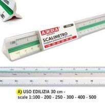 SCALIMETRO ISOTECK ARDA 30CM PER EDILIZIA (SCALE 1100-200-250-300-400-500) 109