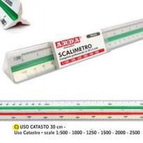 SCALIMETRO ISOTECK ARDA 30CM PER CATASTO (SCALE 1500-1000-1250-1500-2000-2500) 111
