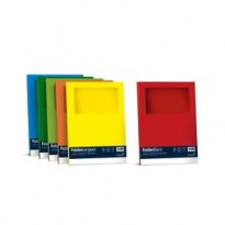 10 cartelline SIGNO con finestra 140gr 22x31cm giallo sole FAVINI A51B124