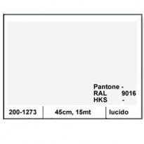 PLASTICA ADESIVA DC-FIX 45CM X 15MT BIANCO 127 LUCIDO 2001273