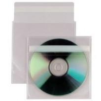 25 BUSTE A SACCO PPL 12,5X12CM INSERT CD AR C/PATELLA ADESIVA 430103