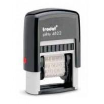 Timbro Printy Eco 4822 POLINOME 12 diciture 4mm autoinchiostrante TRODAT 74051.
