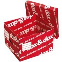 Scatola DOXDOX con coperchio 395x280x355mm REXEL 1600175 - Conf da 12 pz.