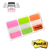 Dispenser 66 Post-it INDEX STRONG 686-PGOEU 25X38MM COLORI VIVACI 74474