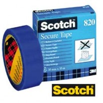 NASTRO ANTIEFFRAZIONE BLU Scotch 820-3533-S 35MMX33MT 3M 94826