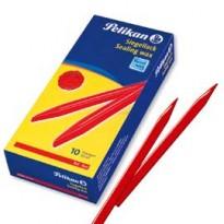Ceralacca rossa 60/10 Pelikan 600g per pacchi - 10 stecche 361220