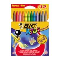 ASTUCCIO 12 PASTELLI KIDS PLASTIDECOR BIC 945764