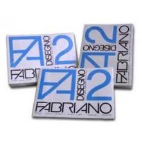 BLOCCO FABRIANO2 (24X33CM) 20FG 110GR RUVIDO 4 ANGOLI 06000516