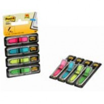 MINISET FRECCE 96 SEGNAPAGINA Post-it INDEX 684-ARR4 IN 4 COLORI VIVACI 26453