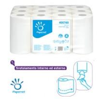 Asciugamani in rotolo MINI 210 strappi  14,5cm Centrefeed Papernet 400760 - Conf da 12 pz.