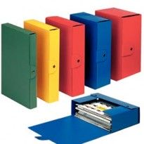 Scatola progetto C32 25x35cm dorso 12 blu ESSELTE 390332050 - Conf da 5 pz.