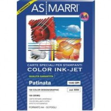 CARTA INKJET A3 125GR 100FG COLOR GRAPHIC EFFETTO PHOTO 9260 AS MARRI 9260