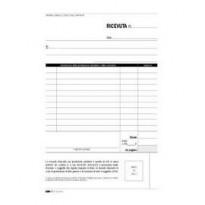 BLOCCO RICEVUTE SANITARIE NUMERATE 50/50 FOGLI AUTORIC. 23X15 E5275C E5275C