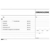 BLOCCO COMUNICAZIONI TELEFONICHE 50/50 FOGLI AUTORIC. 9,9X17 E5693A E5693A
