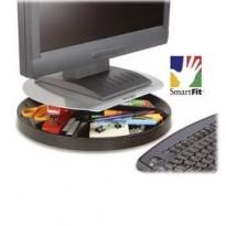 Supporto monitor Spin2 con portacessori - grigio - monitor max 18kg- Kensington 60049EU