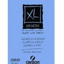 ALBUM SPIRALATO XL MIX MEDIA 29,7X42CM 300GR 30FG 200807216 - Conf da 5 pz.