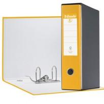Registratore EUROFILE G53 giallo dorso 8cm f.to commerciale ESSELTE 390753090