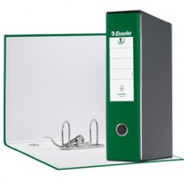 Registratore EUROFILE G53 verde dorso 8cm f.to commerciale ESSELTE 390753180