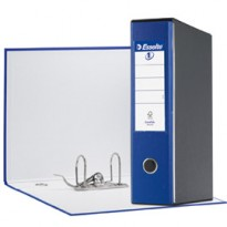 Registratore EUROFILE G53 blu dorso 8cm f.to commerciale ESSELTE 390753050