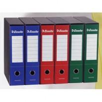 Registratore ESSENTIALS G75 blu dorso 8cm f.to protocollo ESSELTE 390775050 - Conf da 6 pz.