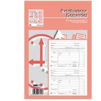 BLOCCO RETRIBUZIONI DOMESTICI 24x15cm 25fg 3copie ric. E5744A EDIPRO E5744A