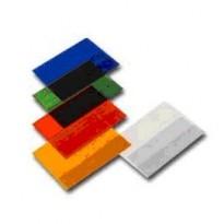 COPRIQUADERNO A5 SATINATO PVC GOFFRATO NEUTRO C/ALETTE 31615001 - Conf da 25 pz.