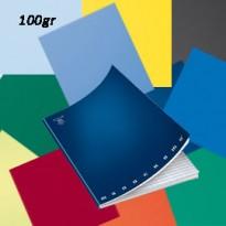 MAXIQUADERNO A4 36fg+2 100gr riga di 3a MONOCROMO 100 02217800B - Conf da 10 pz.