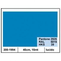 PLASTICA ADESIVA DC-FIX 45CM X 15MT AZZURRO CIELO 114 LUCIDO 2001994