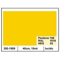 PLASTICA ADESIVA DC-FIX 45CM X 15MT GIALLO 101 LUCIDO 2001989