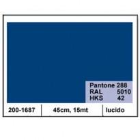 PLASTICA ADESIVA DC-FIX 45CM X 15MT BLU 116 LUCIDO 2001687