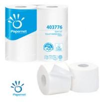 Pacco 4RT carta igienica 2veli Maxi 350strappi goffrata micro Papernet 403776